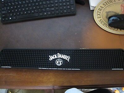 JACK DANIELS - RUBBER BAR MAT for sale  Shipping to Canada