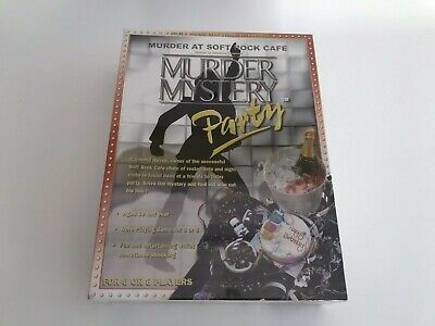 Murder Mystery Dinner Party Game Murder At The Soft Rock Cafe New & Sealed