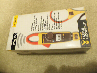 Fluke 376 Fc 1000a1000v Trms Acdc Clamp Volt Ohm Amp Meter W 18-inch Iflex