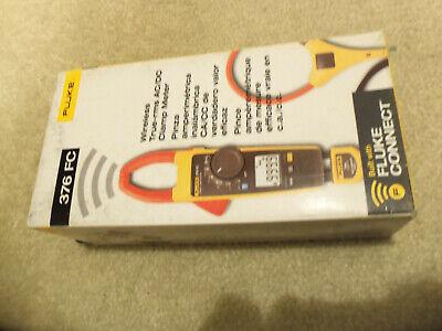 Fluke 376 Fc 1000a1000v Trms Acdc Clamp Volt Ohm Amp Meter W 18-inch Iflex