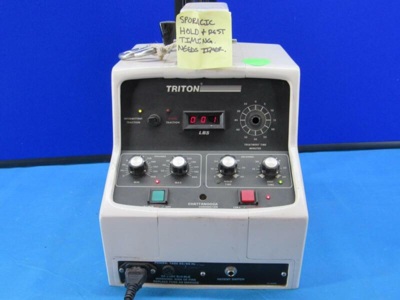 CHATTANOOGA Triton T-700 Traction Device For Parts or Repair