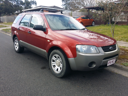 Ford Territory rwd 5 seater has rego