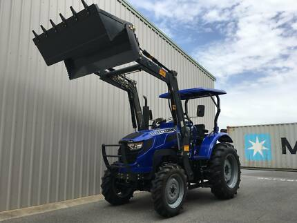 Brand New 55HP TRIDENT Tractor with FEL & SLASHER Lonsdale Morphett Vale Area Preview