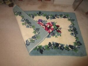 Mary Maxim latch hook rug