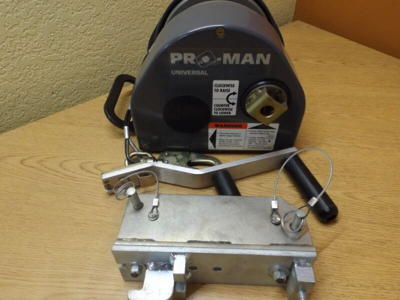 DBI Sala Pro-Man Universal Man Rated Confined Space Entry Retrieval Winch