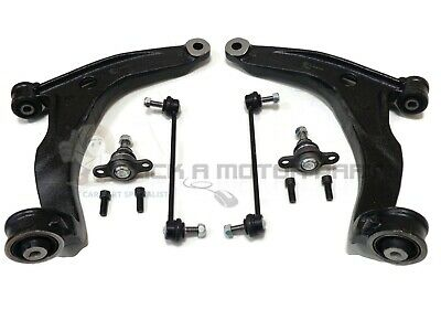 VW TRANSPORTER T5 FRONT SUSPENSION 2 LOWER WISHBONE ARMS BALL JOINTS & LINKS