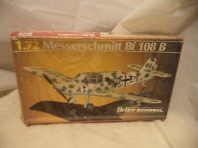 NIB VINTAGE HELLER HO 1:72 MESSERSCHMITT Bf 109 B Kit 80231