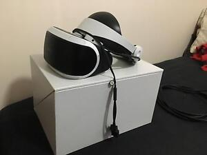 PlayStation VR + PS camera + 2 move + 1 aim controllers + 3 games Redcliffe Redcliffe Area Preview