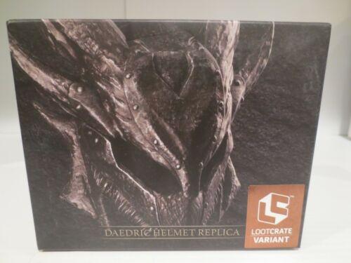 Elder Scrolls Oblivion Daedric Helmet Scale Replica ~ Loot Crate Gaming