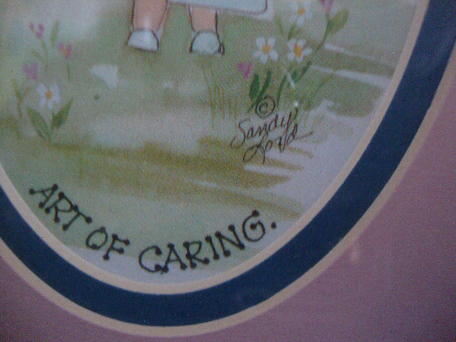 SANDY LORD HEARTSTRINGS COLLECTION WATERCOLOR PRINT NURSING Is The GENTLE ART O - $6.99