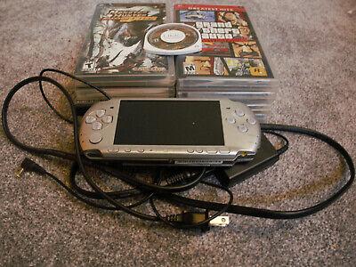 Silver Sony PSP 3001 Bundle