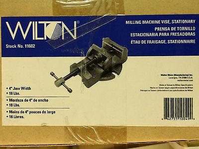 Wilton 11602 4-inch Milling Machine Vise