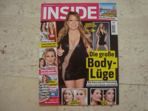 MARIAH CAREY import cover magazine Madonna Britney Spears
