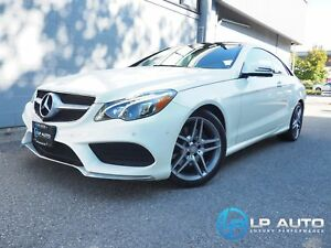 2014 Mercedes-Benz E-Class E350 4MATIC Coupe! Loaded! Easy Appro