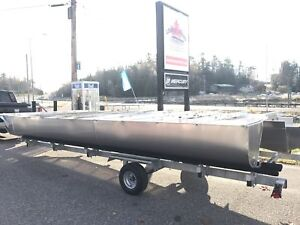 2018 JC Pontoon Boat Chassis Only