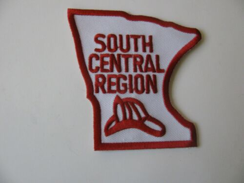 """South Central Region Fredericksburg Ohio OH Fire Rescue Dept Patch Iron On  3"""""""