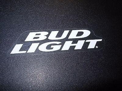 BUD LIGHT Die Cut Banner Clear Logo budweiser STICKER decal craft beer brewing