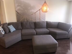 Huge deep Chesterfield Shop custom couch