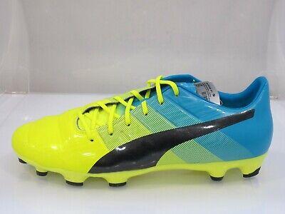 Puma Evopower 1.3 AG Artificial Grass Football Boots Size UK 8 / EU 42 (G5T)