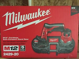 M12 cordless Milwaukee band saw brand new