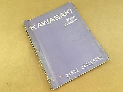 Genuine Kawasaki 250:S1A Part Catalogue
