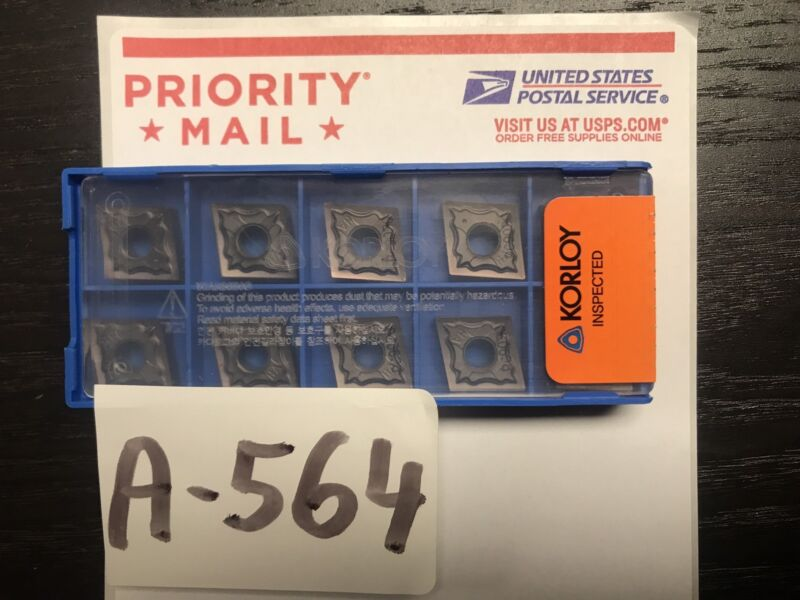 Cnmg 120404-HA PC9030 Korloy *ORIGINAL* (10pcs) FREE DELIVERY - USA LOCATION *