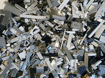 Lego Bulk Lots 500 to 2000 pc Star Wars Black & Gray Genuine Bricks Parts & Pcs
