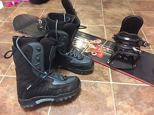 Like New Snowboard and Boots