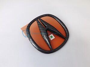 Acura TL 2004-2008 Carbon Fiber Emblem Rear Trunk Lid Badge Genuine OEM Logo
