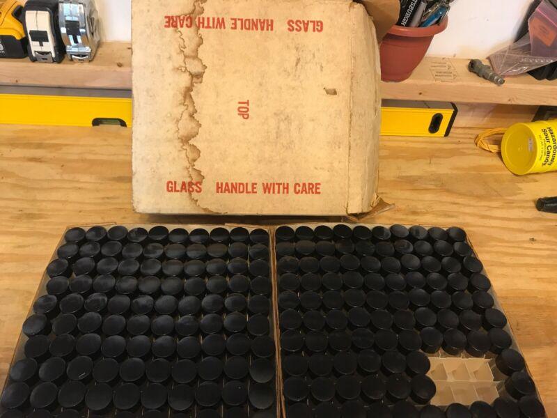 Lot Of 194 Vintage 10ml Vacule Glass Bottles Vials Wheaton Scientific