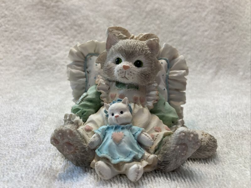 Calico Kittens by Enesco Friends Are Cuddles of Love 1992