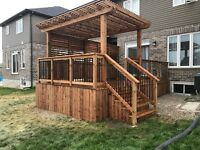 Quality Fences and Decks! Professional Contractor Booking Now!
