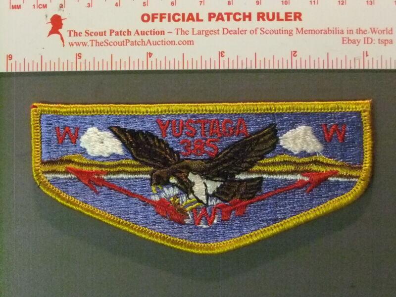 Boy Scout OA 385 Yustaga flap 6664JJ