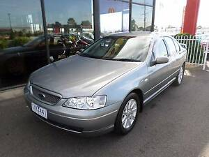 2004 Ford Falcon Futura Dual Fuel Sedan Traralgon East Latrobe Valley Preview