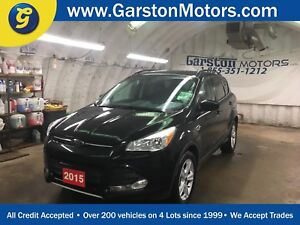 2015 Ford Escape AWD*LEATHER*PANORAMIC SUNROOF*BACK UP CAMERA*MI