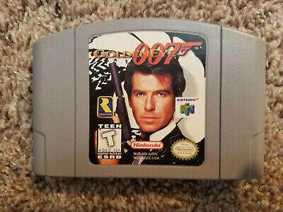 GoldenEye 007 (Nintendo 64, 1997) N64 Authentic