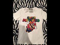 T Shirt Moschino Mario Bros Tg. 42 M - moschino - ebay.it