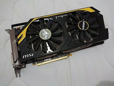 MSI AMD Radeon R9 270X HAWK (2048 MB) Graphics Card