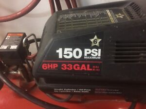 33 gallon air compressor $250