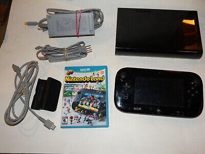 Usado, Complete Working Nintendo Wii U Deluxe 32 GB Black System Gamepad Bundle + Games segunda mano  Embacar hacia Mexico