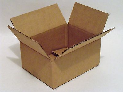 Pack Of 6 Heavyweight Corrugated Boxes - 8 X 6 X 4