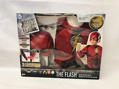 Kids The Flash Costume, Role Play Pretend Dress-up Toys Little Superhero - Cheap Fun Costumes