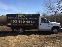 GARBAGE AND JUNK REMOVAL 403-510-8674 mike