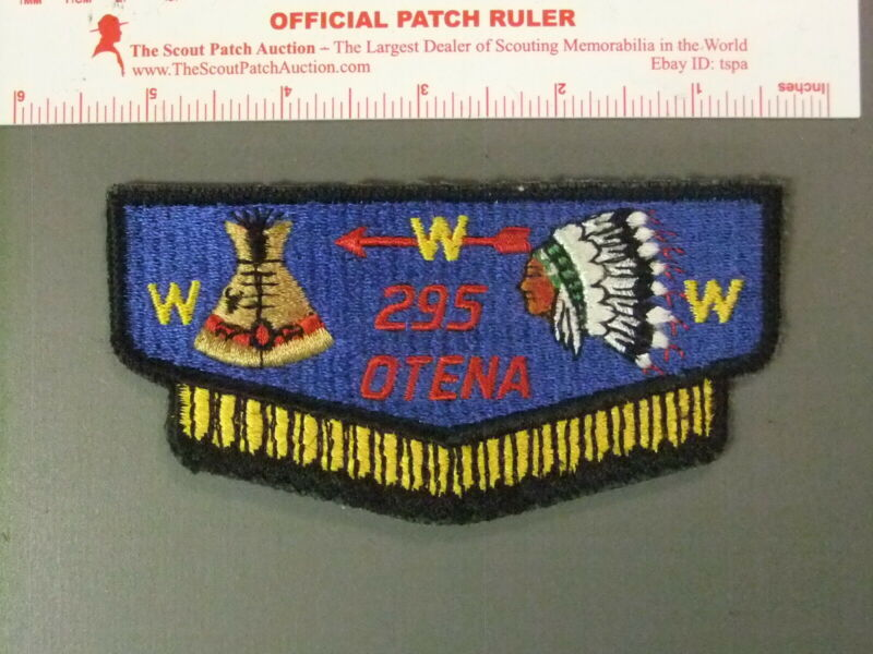Boy Scout OA 295 Otena flap 7681JJ