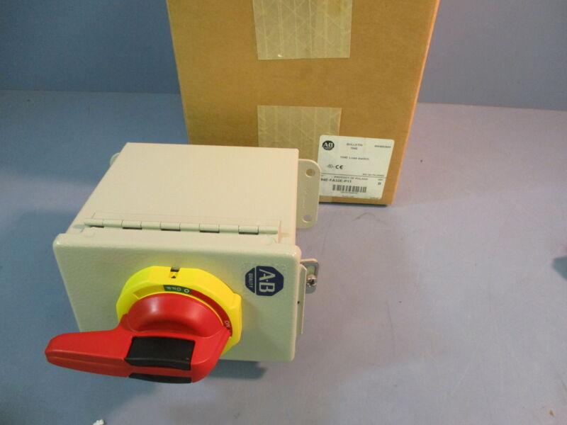 NIB Allen Bradley 194E-FA32E-P11 Load Switch Series B