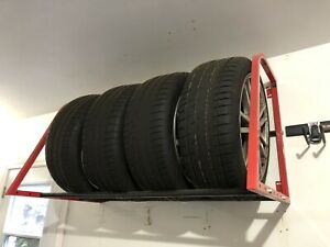 Subaru STI OEM Mags and Continental DW Tires 245/40R18