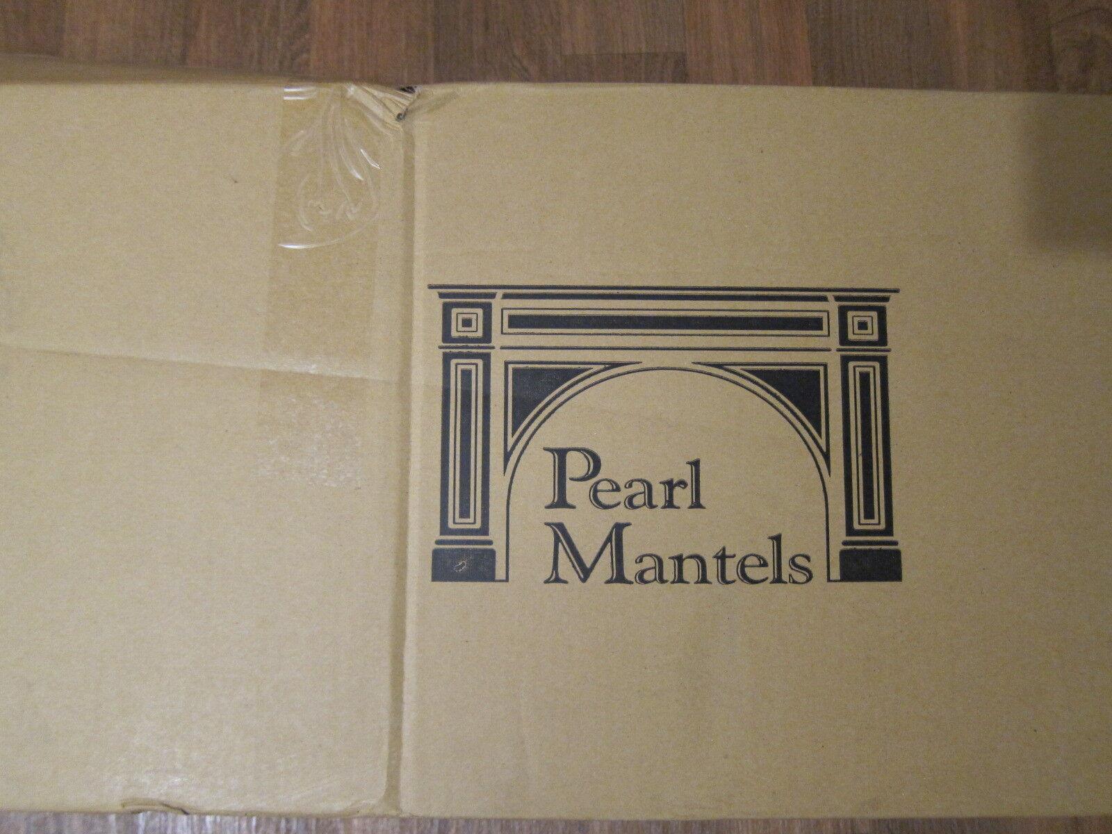 Pearl Mantels 412-60 Shenandoah Unfinished Pine Rustic Firep