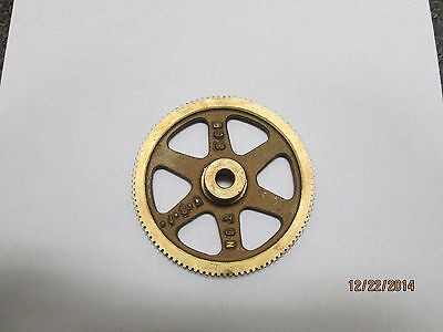 "14.5 PA Pressure Angle Boston Gear G1047 Worm Gear 0.375/"" Bore,13624 Spoke"