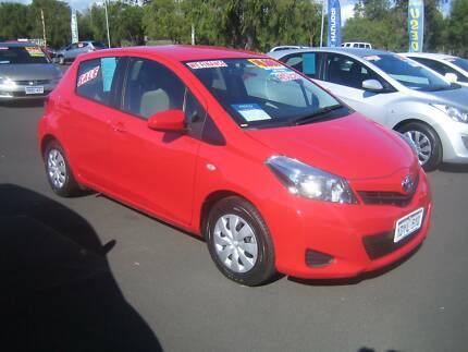 2012 Toyota Yaris YR Auto 5-Door Hatchback Busselton Busselton Area Preview