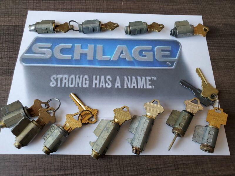 20 Schlage Locks for LOCK SPORT challenge locks all with working keys.